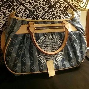 Louis Vuitton Denim Handbag
